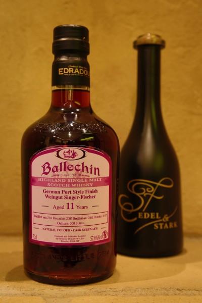 Edradour Whisky Ballechein PORTWEIN FINISH 57,9% wol
